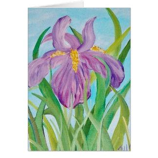 Birthday Iris Card