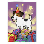 Birthday Jack Russell Terrier Greeting Card