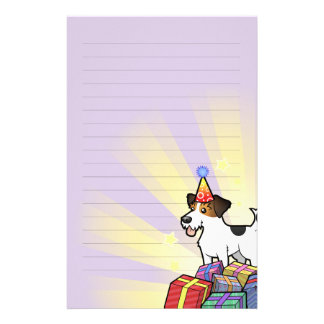 Birthday Jack Russell Terrier Stationery
