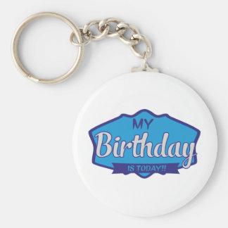 birthday keychains