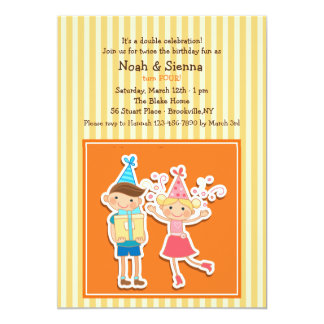 Birthday Kids Invitation