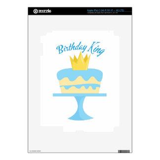 Birthday King iPad 3 Skins