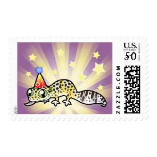Birthday Leopard Gecko Postage
