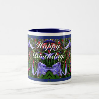 Birthday Lilies of the Nile Mugs