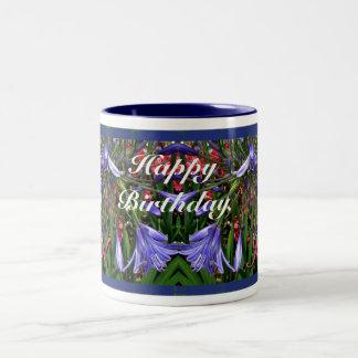 Birthday Lilies of the Nile Mugs