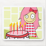 BIRTHDAY LILY MOUSE PAD