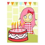 BIRTHDAY LILY POSTCARD
