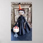 Birthday Lizzie Borden Doll Poster