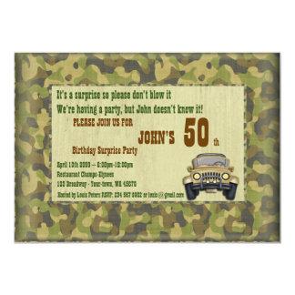 Birthday Man,Party Man,Hunter,any age,deer Card
