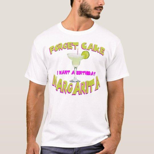 Birthday Margarita T-Shirt