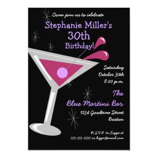cocktail birthday invitations