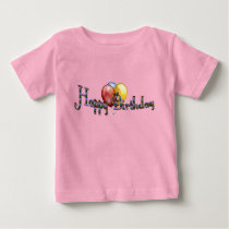 Birthday Melange Baby T-Shirt