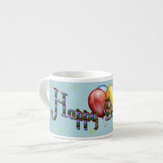 Birthday Melange Espresso Cups