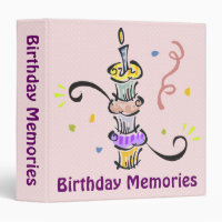 Birthday Memories Scrapbook Binder