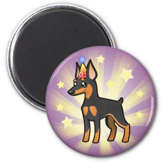 Birthday Miniature Pinscher / Manchester Terrier Magnet