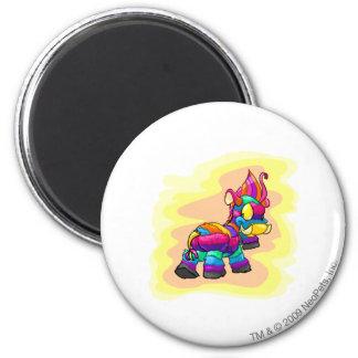 Birthday Moehog 2 Inch Round Magnet