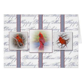 Birthday MOM - Cardinals Cards