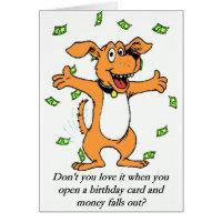 Birthday Money Card