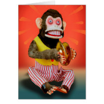 Birthday Monkey Card
