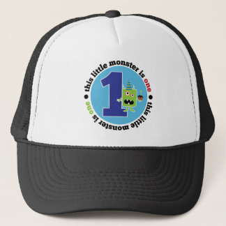 Birthday Monster 1 T-shirt Trucker Hat