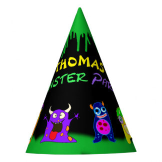 Birthday Monster Party Personalized Party Hat