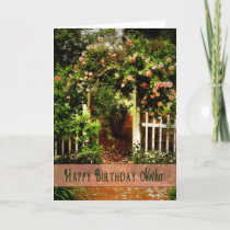 Birthday - Mother - Prettiest Rose in the Garden Card