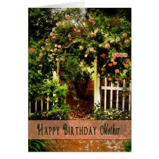 Birthday - Mother - Prettiest Rose in the Garden Card