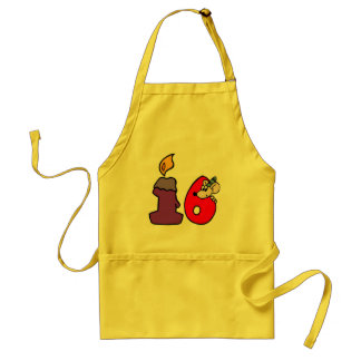 Birthday Mouse 16th Birthday Gifts Aprons
