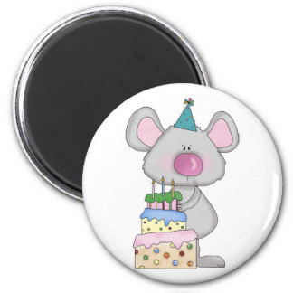 Birthday Mouse Magnet