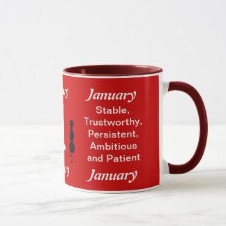 Birthday Mug January