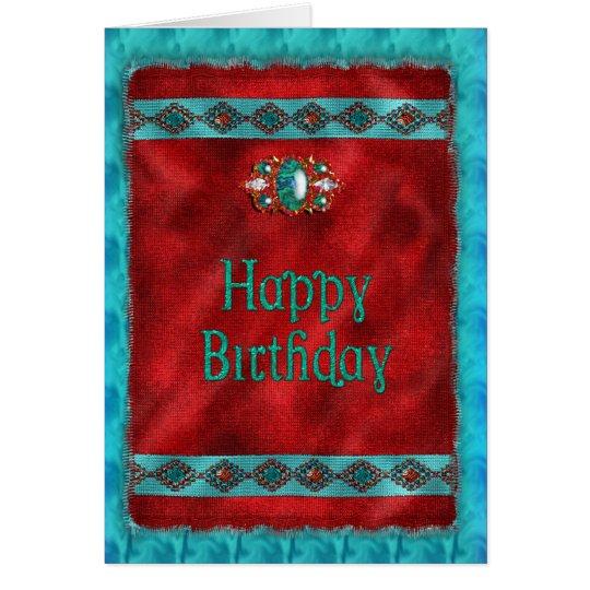 Birthday Native American Southwestern Style Card – Native Birthday Cards