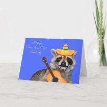 Birthday On Cinco de Mayo Card