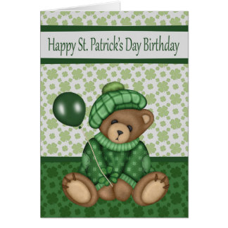 Birthday on St. Patrick's Day, general cards