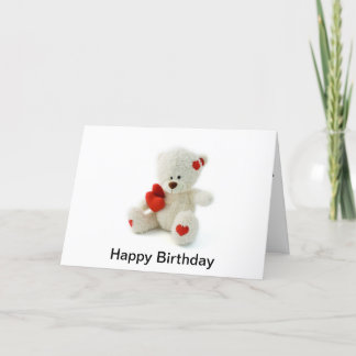 Birthday on Valentines Day Card