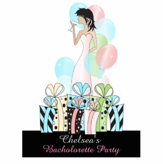 Birthday or Bachelorette Party Diva Princess Girl Cutout