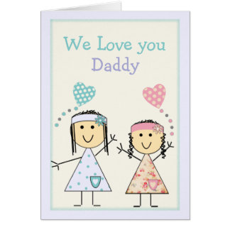 Birthday or Father's Day card for Daddy