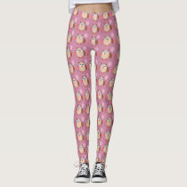 Birthday Owl Leggings