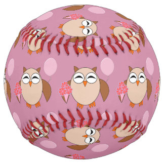 Birthday Owl Softball