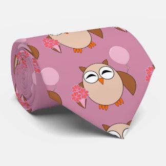 Birthday Owl Tie