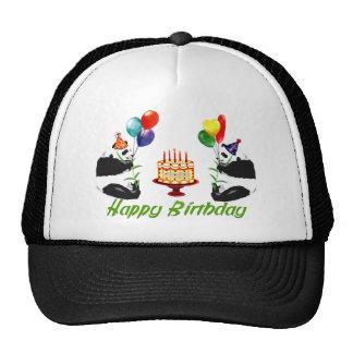 Birthday Pandas Hat
