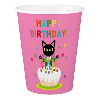 Birthday Paper Cup