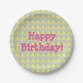 Birthday Paper Plates 7 Inch Paper Plate