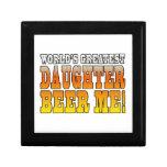 Birthday Parties Worlds Greatest Daughter Beer Me Keepsake Box