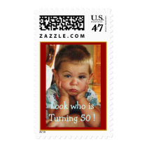 Birthday Party-50th Customize It! Postage
