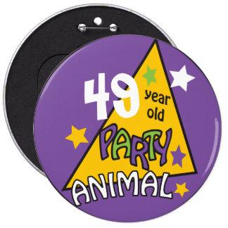 Birthday Party Animal   DIY Age Button