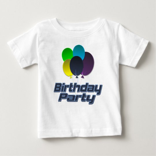 Birthday Party Baby T-Shirt
