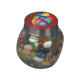 Birthday Party Balloons Decorative Candy Tins