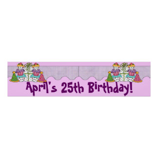 Birthday Party Banner Poster