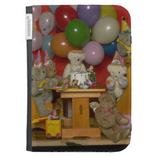 Birthday party  bears kindle 3G cases