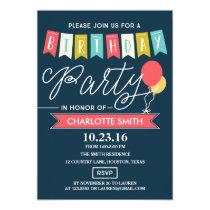 Birthday Party | Birthday Card